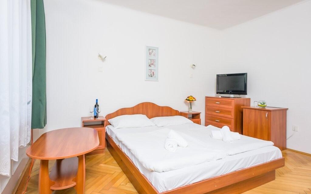 Pohodlné dvoulůžkové pokoje