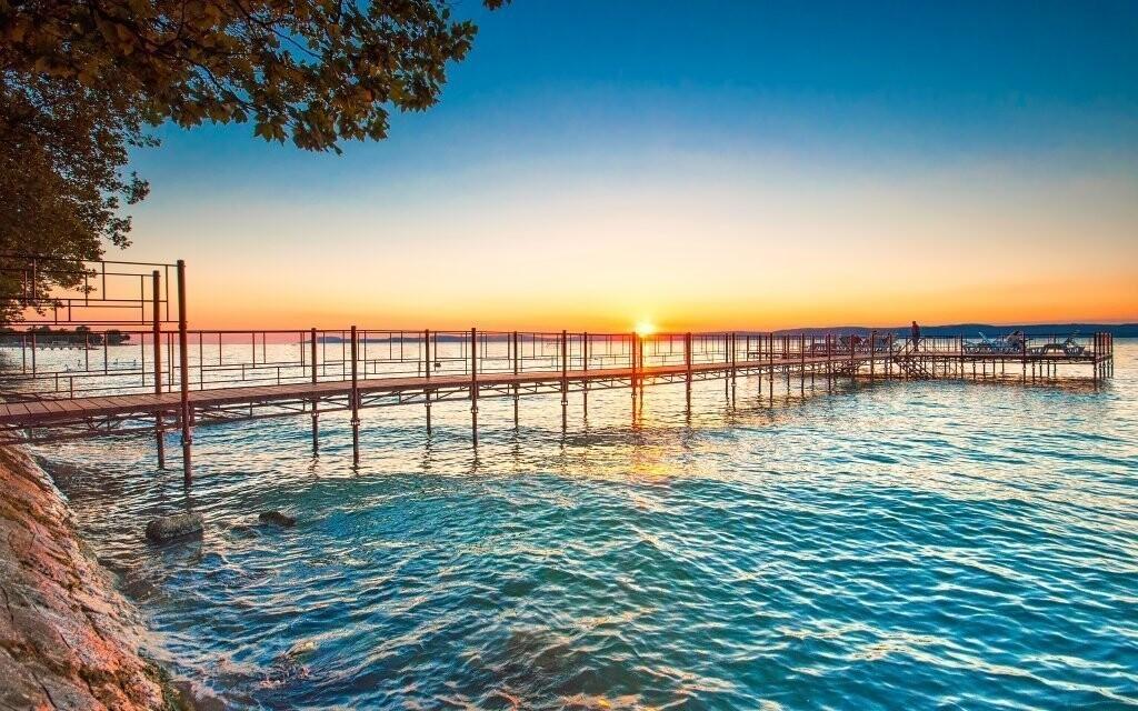 Romantická atmosféra tzv. maďarského moře