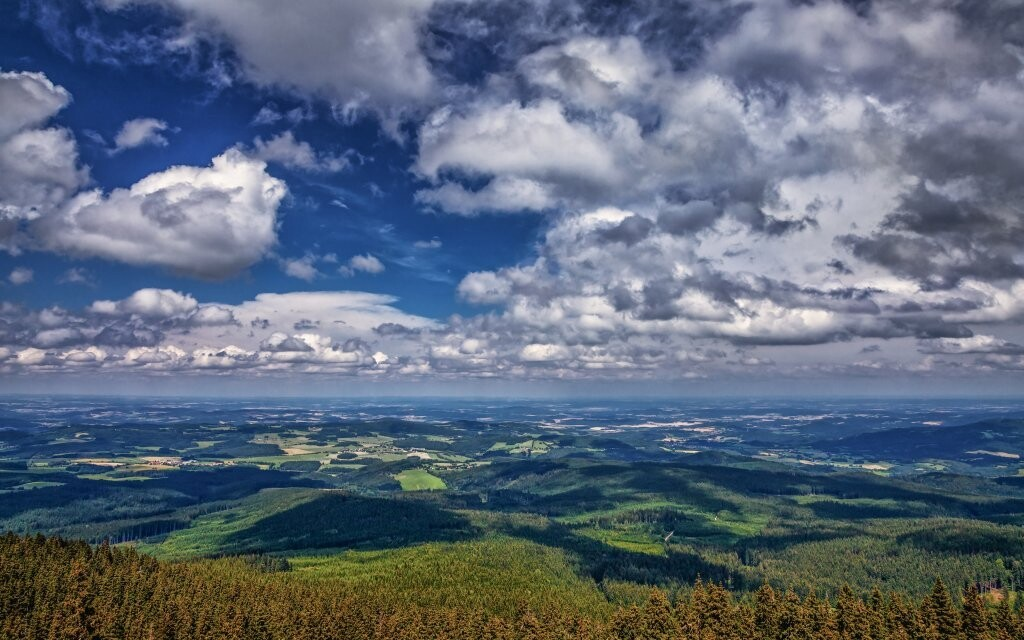 Národní park Šumava je krásný a rozlehlý