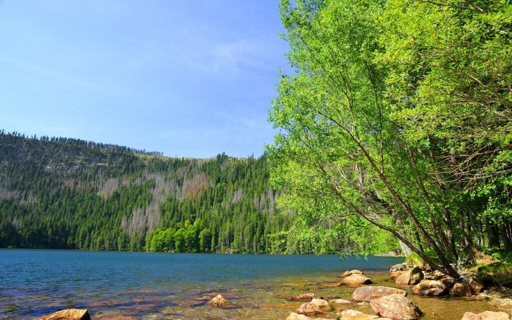 Černé a Čertovo jezero máte na dosah