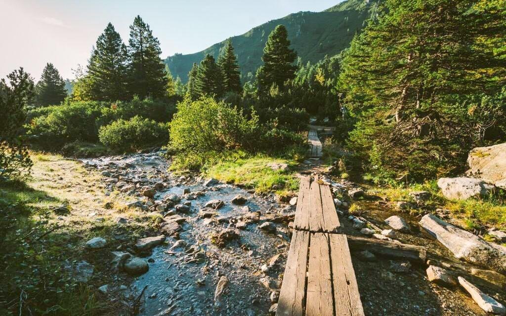 Užijte si krásnou alpskou přírodu