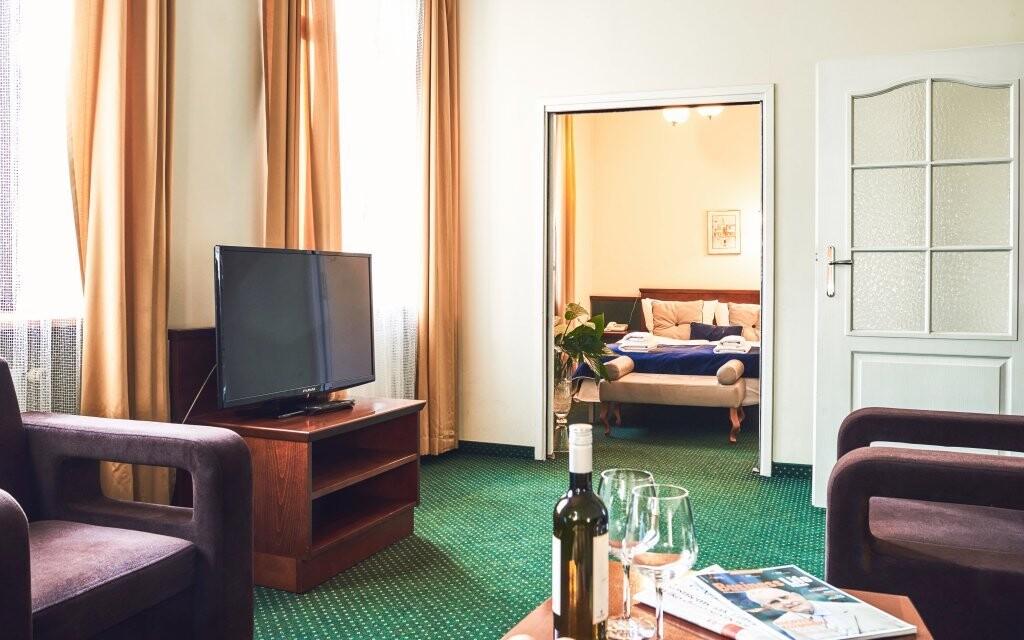Izby sú priestranné a čisté