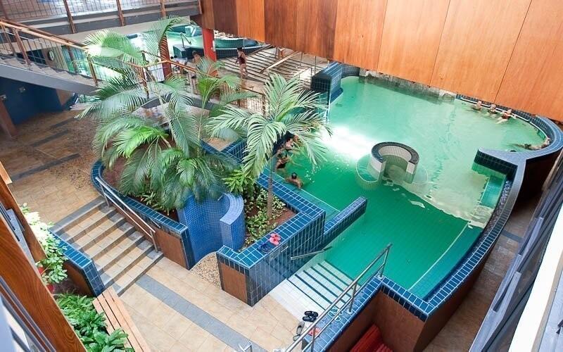 Lázně Rába-Quelle jsou v provozu celoročně