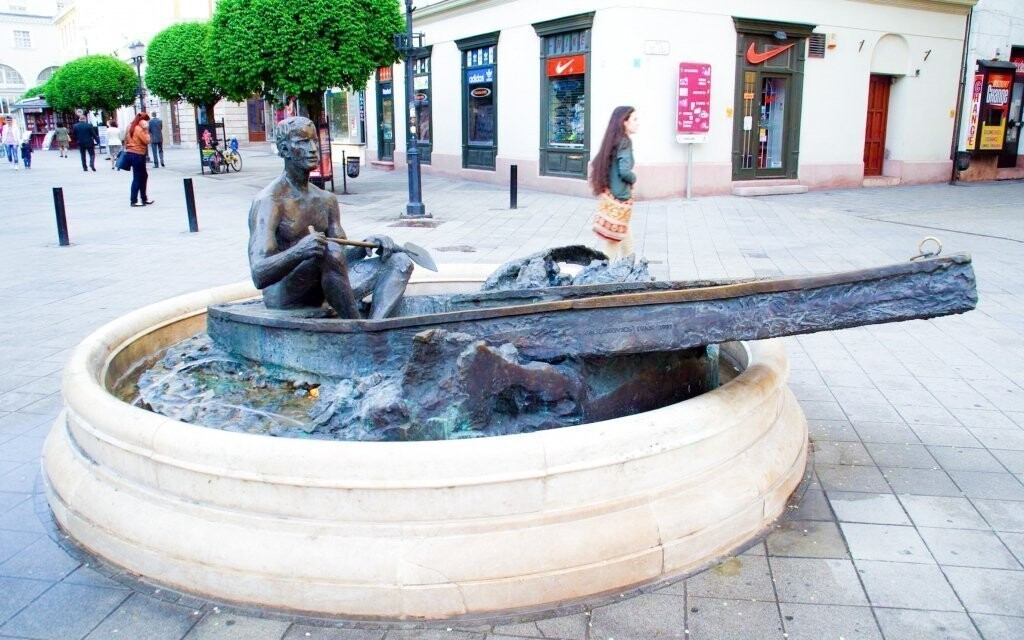 Centrum lázeňského města vás okouzlí