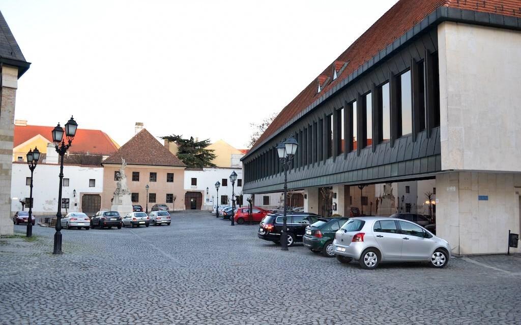 Hotel Konferencia je v samotném centru Györu