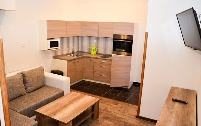Penzion nabízí i ubytování v apartmánech