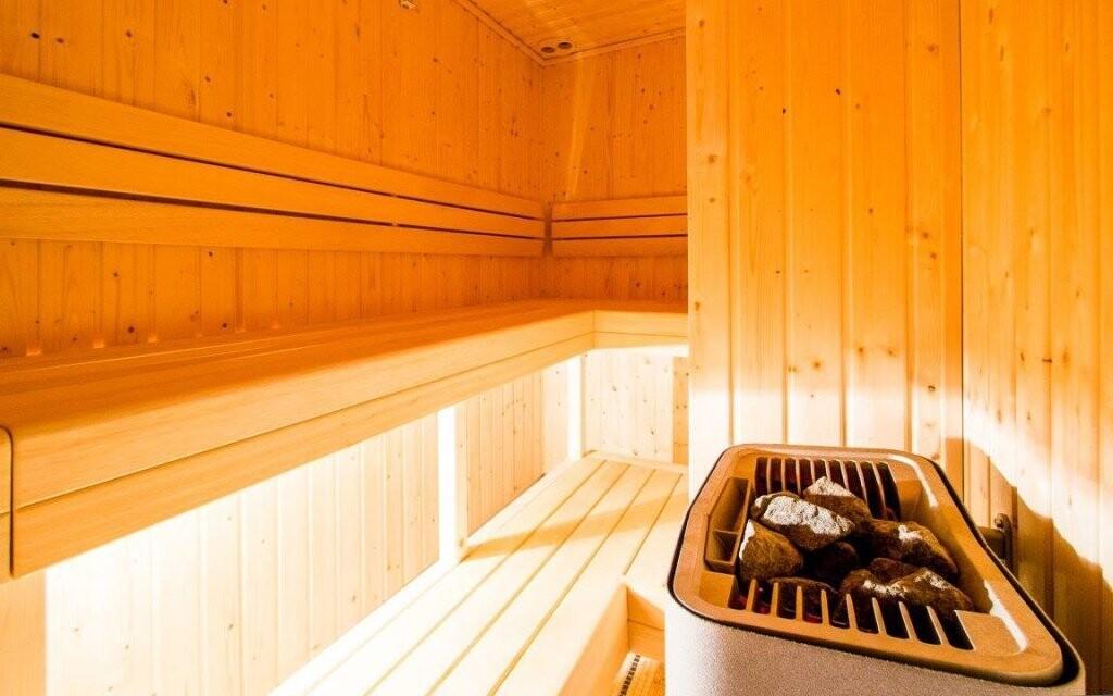 Finská sauna prohřeje vaše tělo
