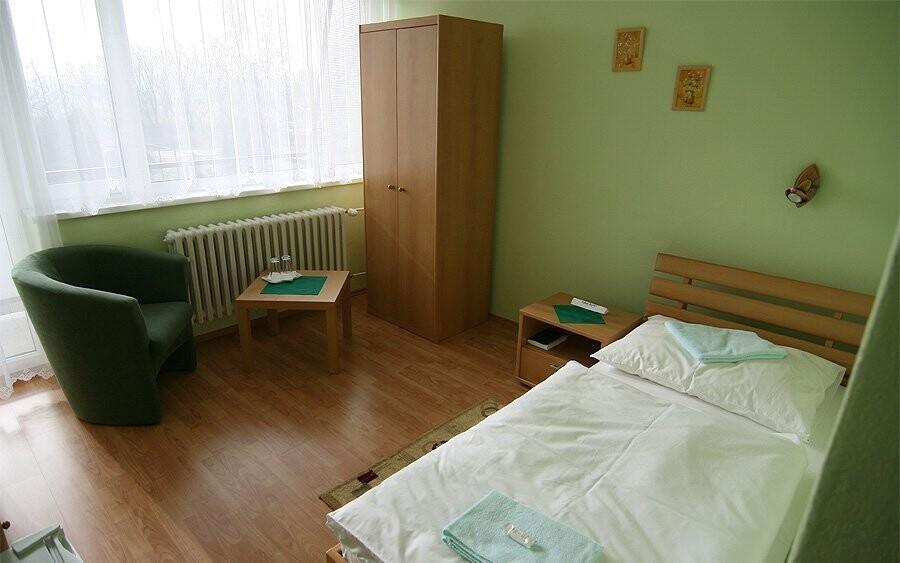 K dispozici je také jednolůžkový pokoj