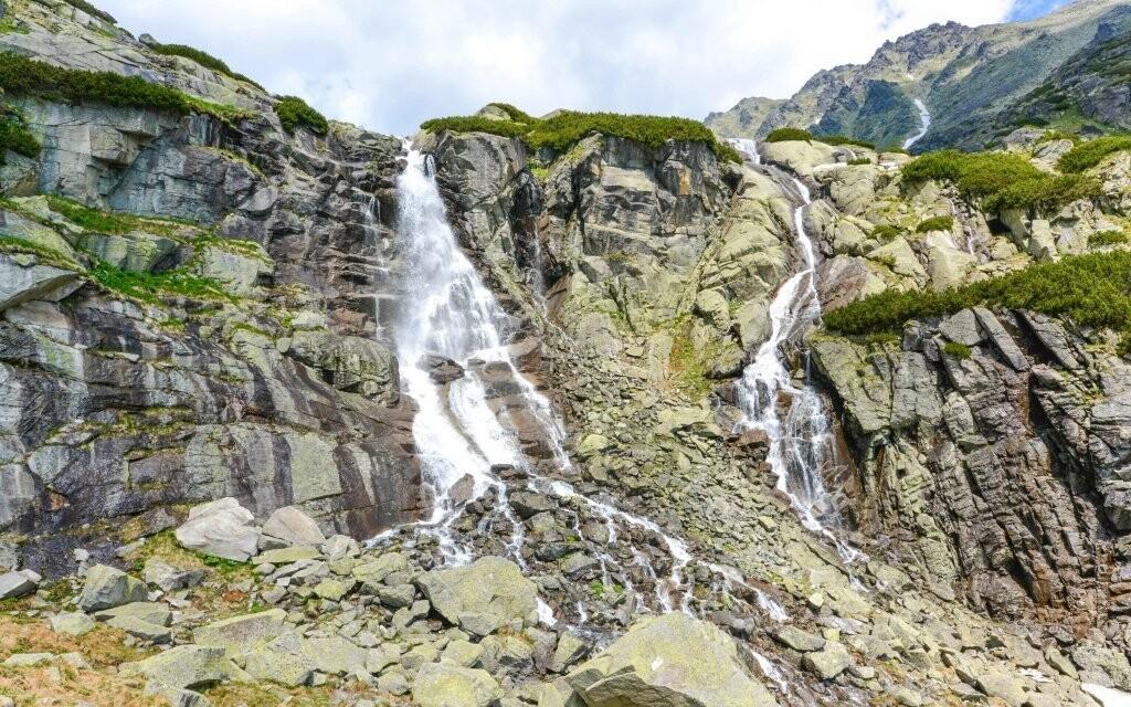 Udělejte si túru za vodopády