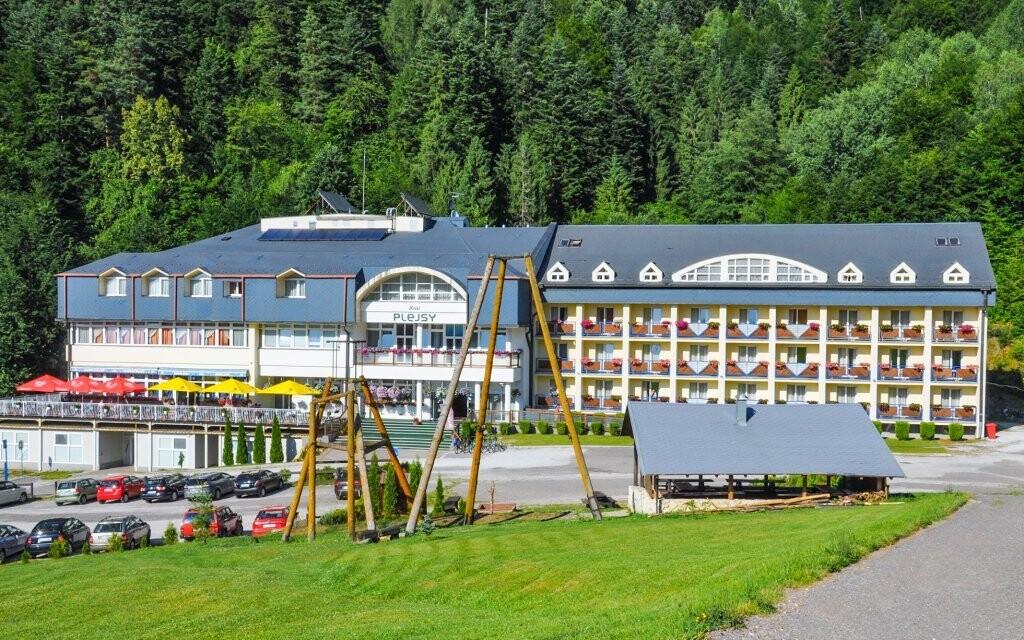 Hotel Plejsy je tím pravým místem pro rodinnou dovolenou