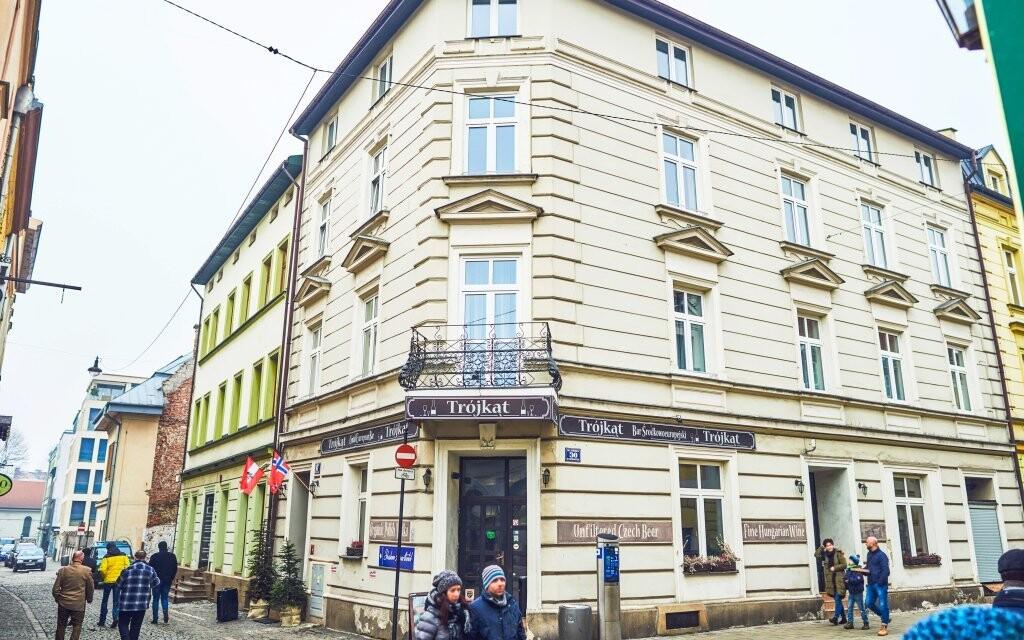 Hotel Shalom Kazimierz nemôžete minúť