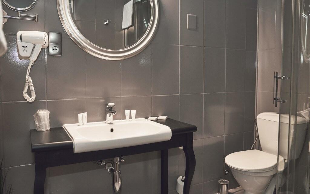 Vysoký standard splňuje i koupelna