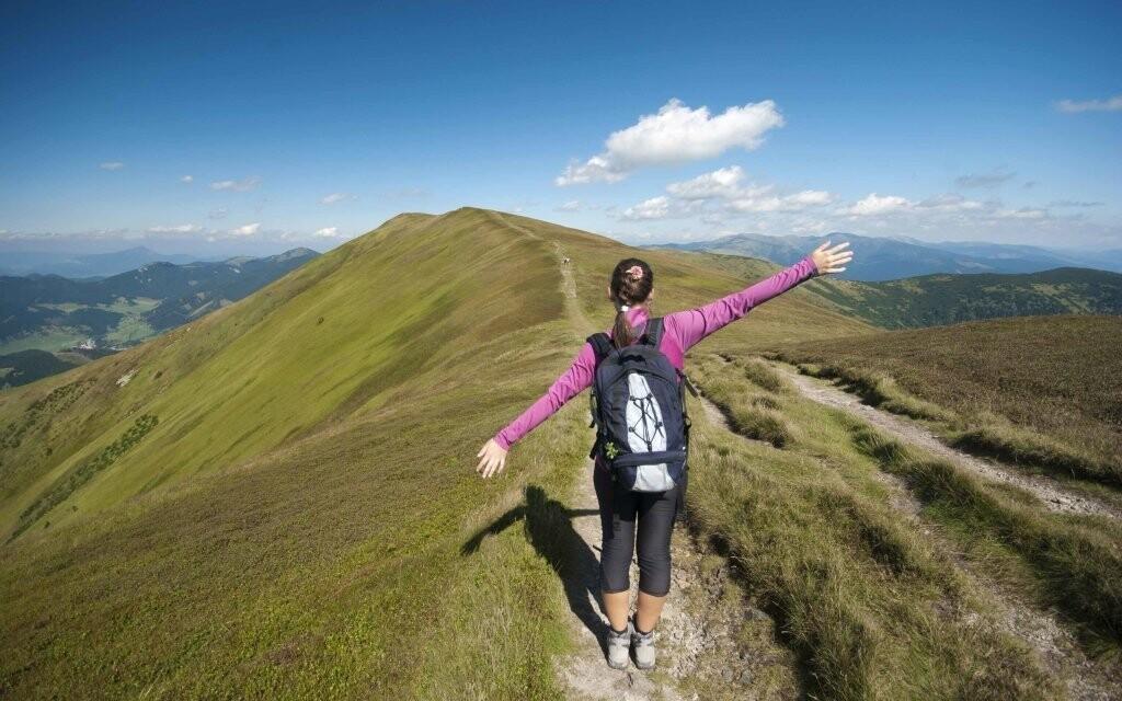 Užijte si rozhled z výšky hor