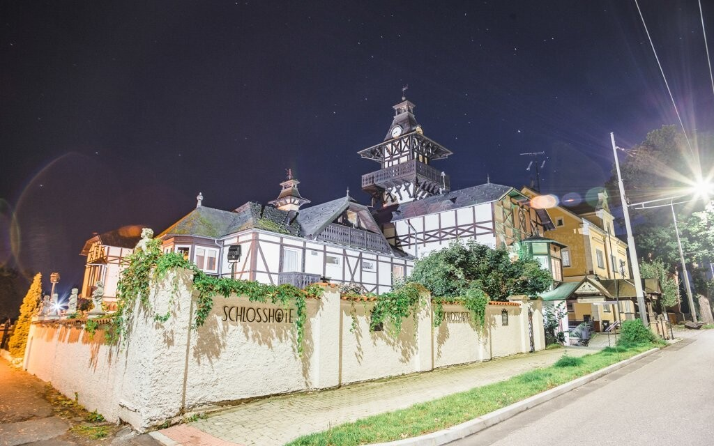 Schlosshotel Marienbad *** v klidné části Mariánských Lázní