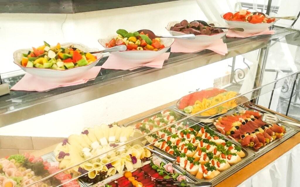 Na snídaních si vyberete z bufetových stolů