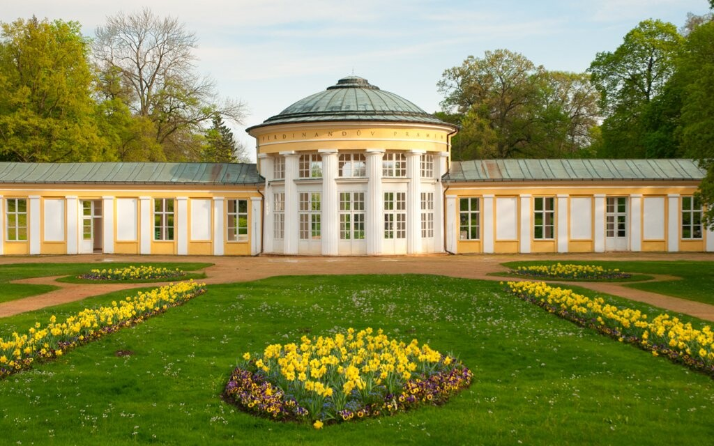 Lázeňská architektura a park, Mariánské Lázně
