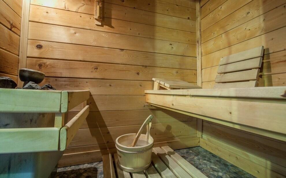 Součástí wellness je i oblíbená finská sauna