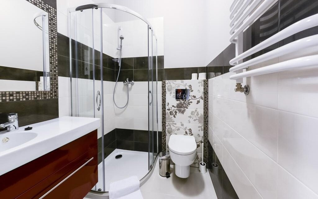 Počítejte i s moderní koupelnou