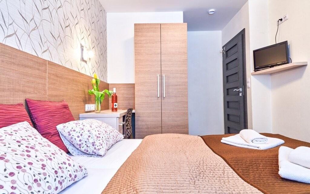Ubytujte se v elegantních pokojích Penzionu Terasa