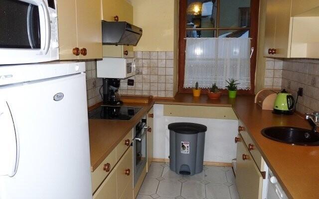 K dispozici je také vybavená kuchyňka