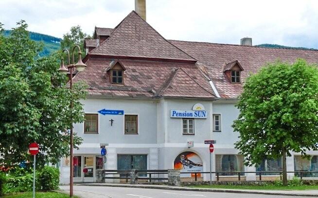 Penzion Sun je lehce dostupný z České republiky
