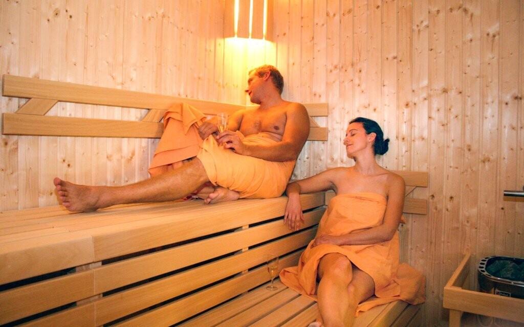 Vstup do sauny je základem vaší relaxace