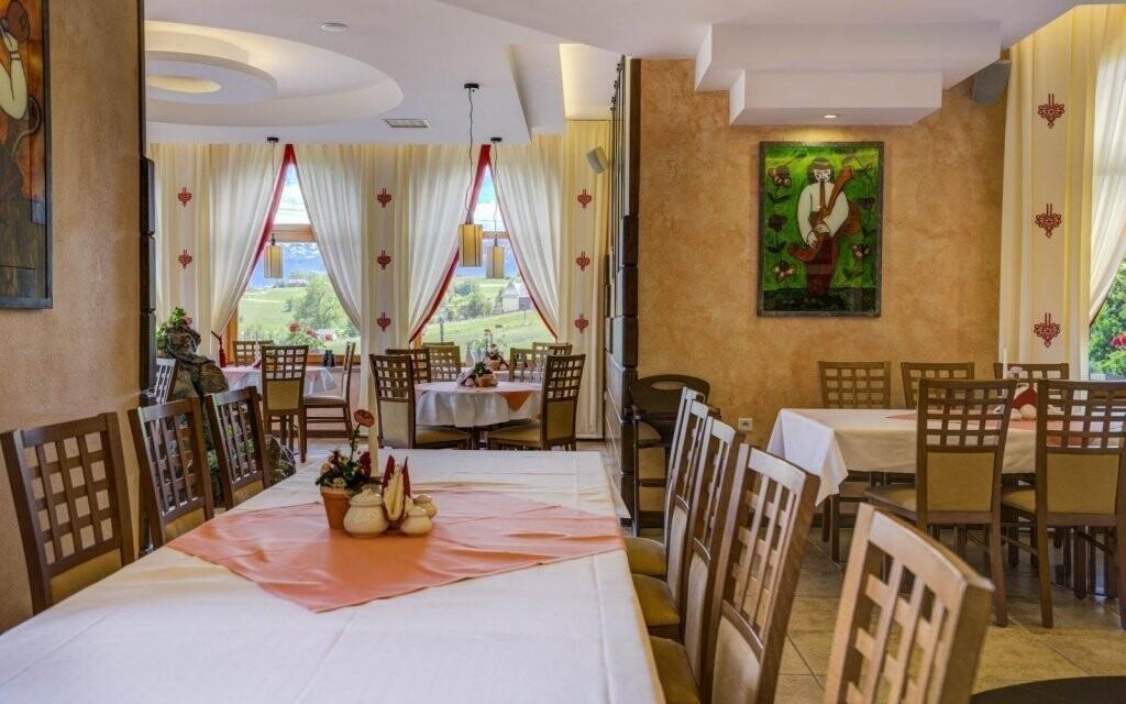 Vychutnajte si polpenziu v elegantnej reštaurácii