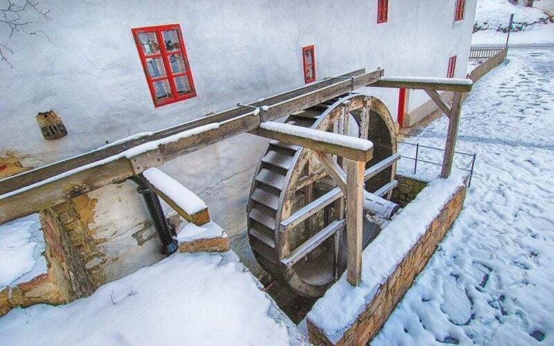 Počův mlýn je ideálním výletním místem