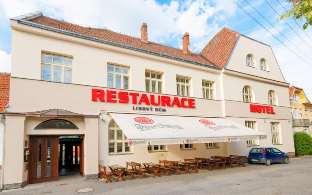 Hotel Lysice *** má také vlastní restauraci