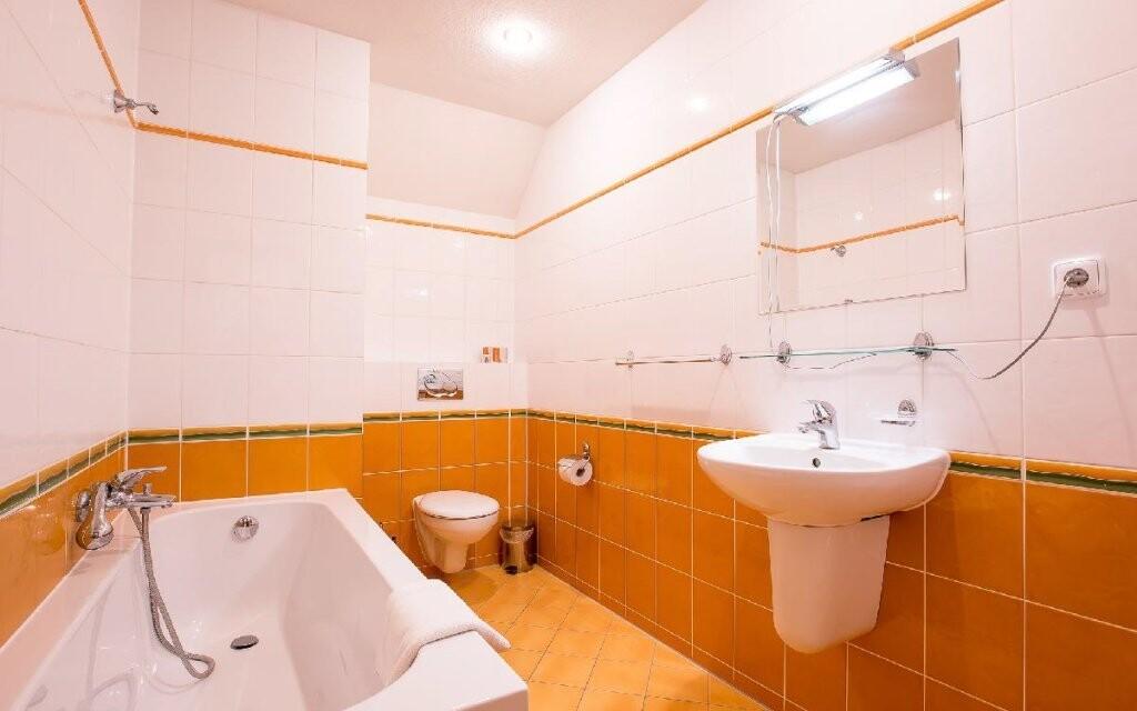 K dispozici máte vlastní koupelnu