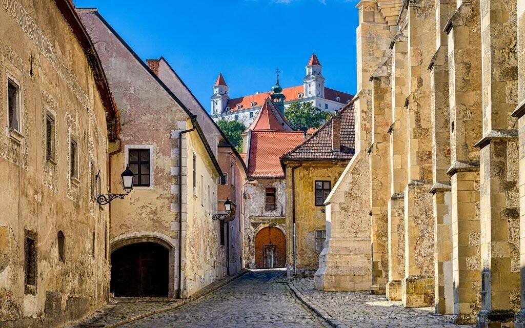 Navštivte třeba Bratislavský hrad