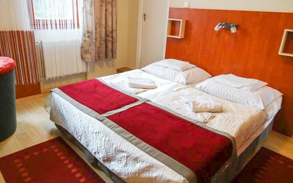 V pohodlných izbách nájdete všetko pre vašu spokojnosť