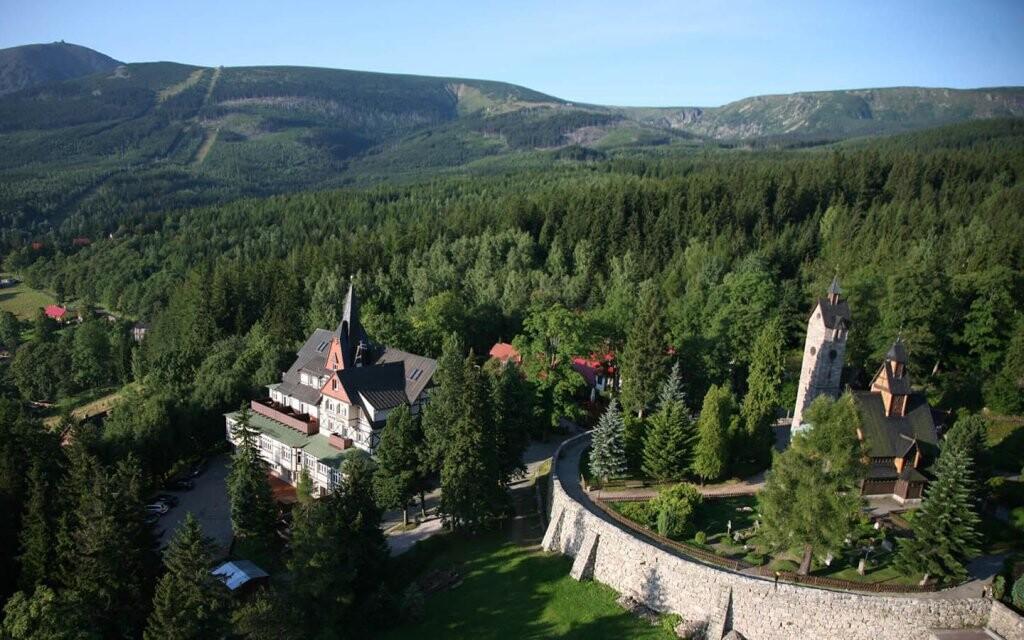 Hotel Tarasy Wang ***, Karpacz, Krknoše, Polsko
