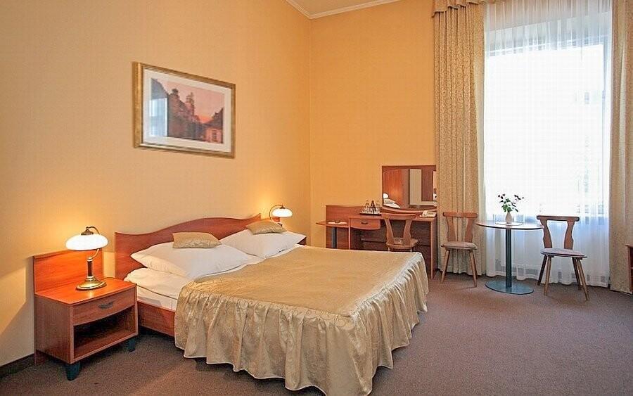 Ubytováni budete v pokojích typu Standard