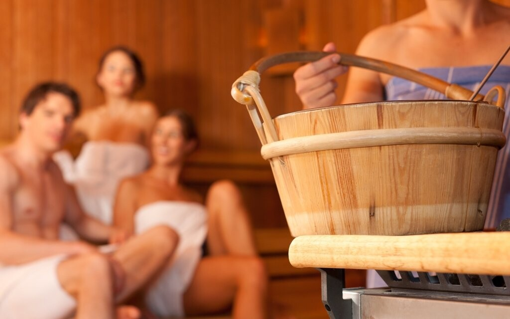 K dispozici jsou i sauny