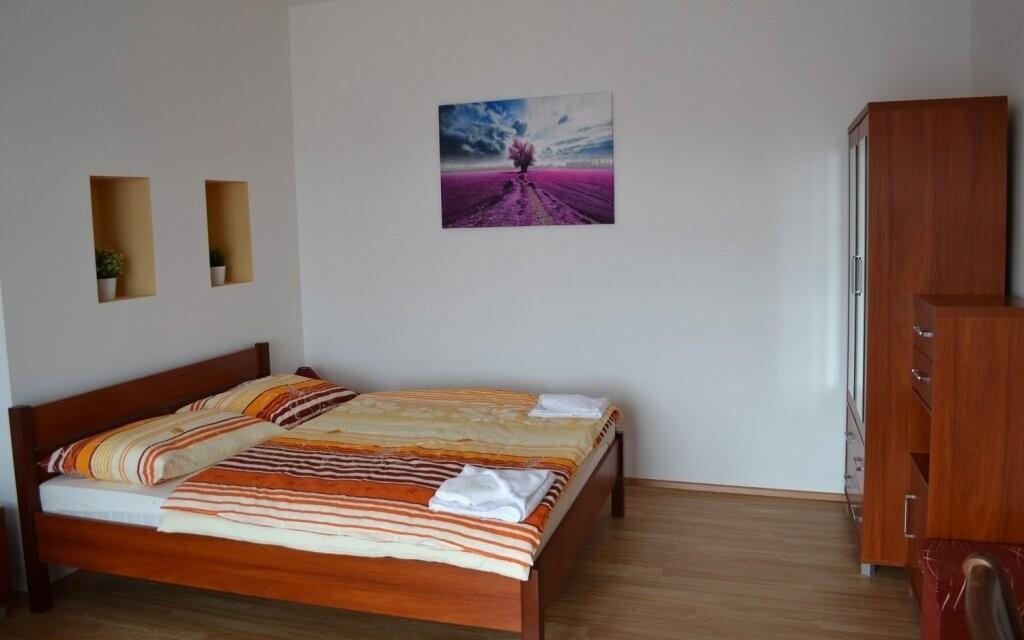 Apartmány jsou moderně a pohodlně vybaveny