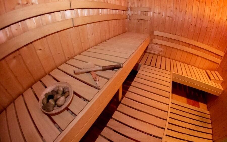 Užijte si privátní vstup do sauny