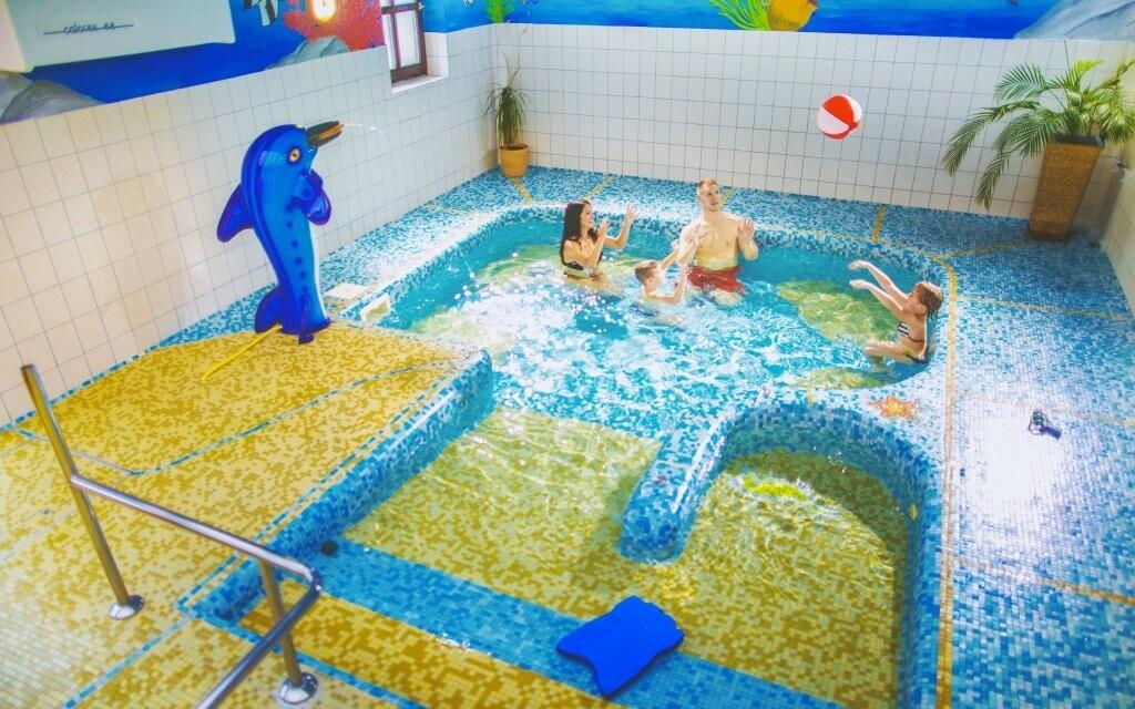 S dětmi se vydovádíte v dětském bazénku