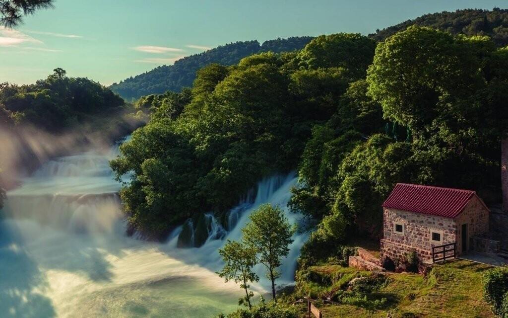 Na výlet zájdite do nádherného národného parku Krka