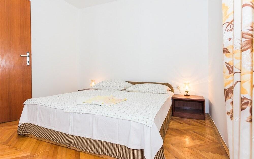 V spálni nájdete dve alebo tri lôžka podľa variantu