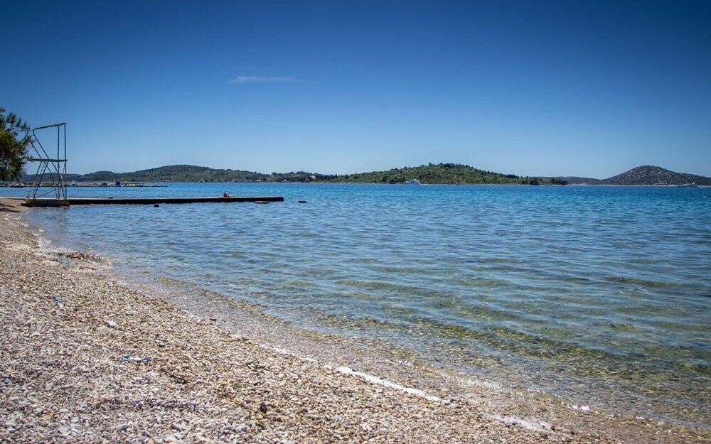 Užite si krásne čisté Jadranské more - pláž máte 350 m