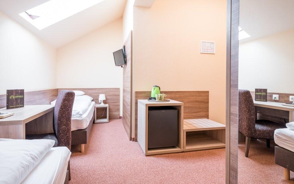 Ubytováni budete v nových pokojích