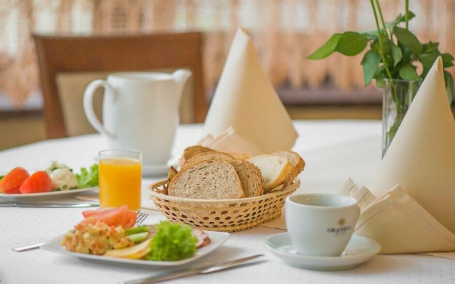 Snídani si dáte formou bufetu