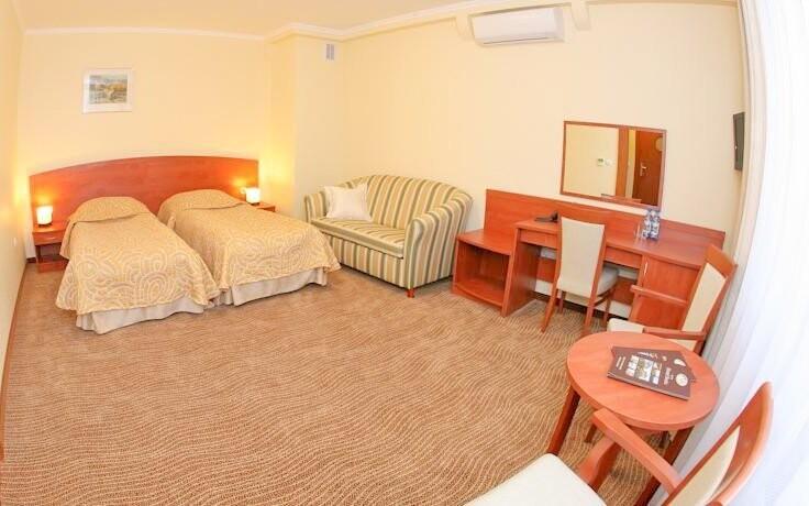 Niektoré izby majú tiež balkón