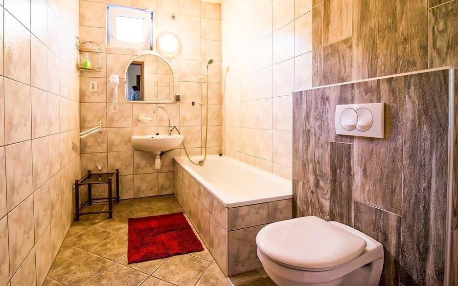 Ku každej izbe patrí aj kúpeľňa