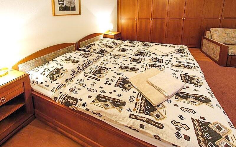 Penzion Na Zámku *** ponúka priestranné izby