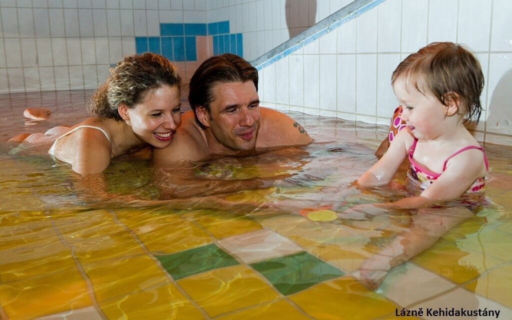 Pre deti je tu detský bazénik