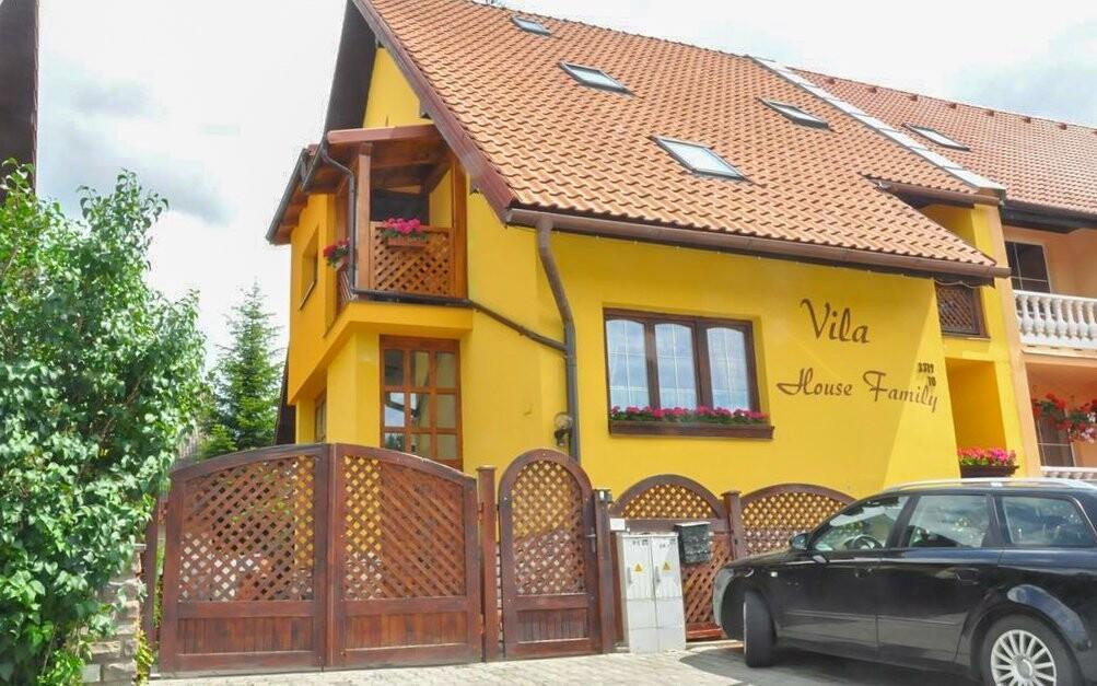 Vila House Family stojí v Popradu pod Vysokými Tatrami