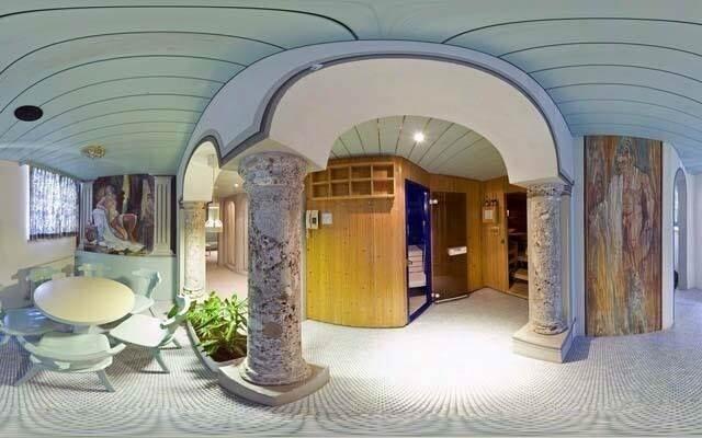 Hotel má netradiční interiéry