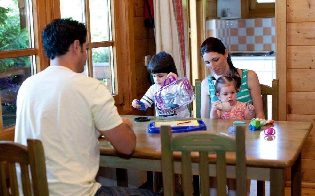 Chatky jsou ideální pro rodiny s dětmi či party přátel